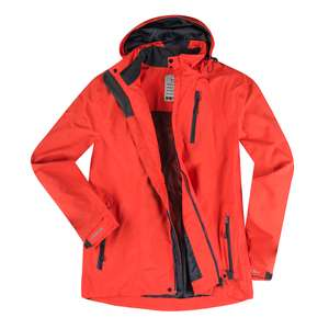 Brigg wetterfeste Funktionsjacke orange