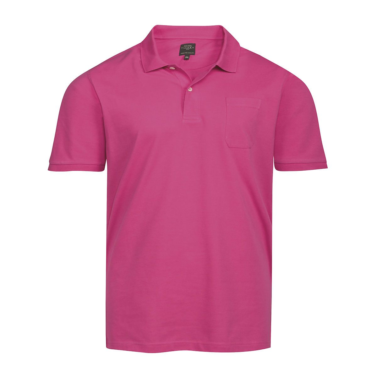 Übergröße Kitaro Basic XXL Poloshirt himbeerrot 3XL 4XL 5XL 6XL 7XL 8XL 10XL NEU