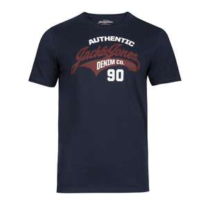Jack & Jones T-Shirt navy Frontprint