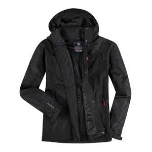 First B leichte Funktionsjacke Kingston schwarz