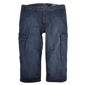 Camel Active Jeansbermuda dark blue used XXL