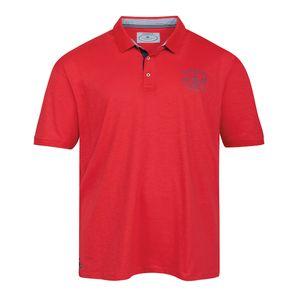 Redfield Poloshirt maritim feuerrot XXL