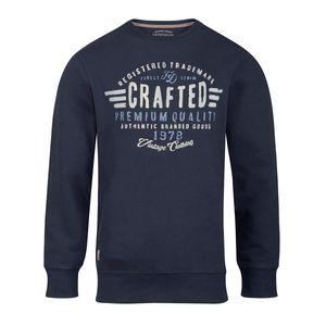 Redfield Sweatshirt Print dunkelblau