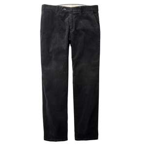 XXL Club of Comfort schwarze Stretch-Cordhose Derry
