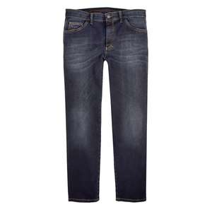 XXL Club of Comfort dunkelblaue Jeanshose used Optik