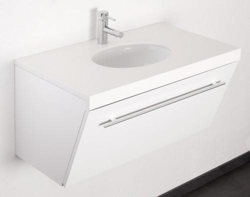 myBATH Badmöbel-Set Celia 80 cm Weiß