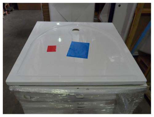 Duschwanne Rondo/Mezzo 100x100x4,5 weiß