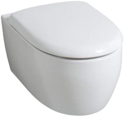 Wand-WC Tiefspüler Keramag 4U WWC in weiß aus Sanitärporzellan 203450