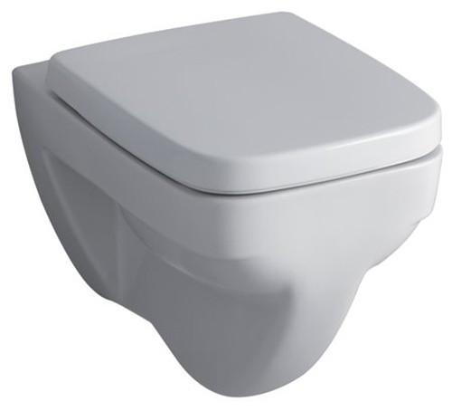 Wand-WC Keramag Renova Nr.1 Flachspüler in weiß aus Sanitärporzellan