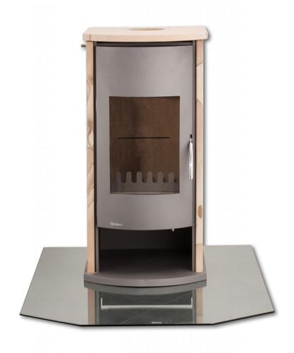 Glasbodenplatte 6-Eck 1200 x 1000 mm