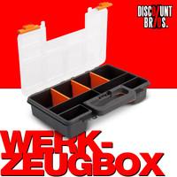3 Stk. BOX Werkzeugbox 8 Fächer 3er-Set