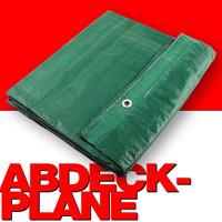 90g/m² Gewebeplane ABDECKPLANE Blache Plane mit Ösen alle 30cm 5×4m