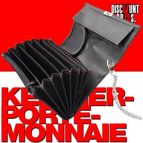 Castelli KELLNER PORTEMONNAIE Geldbörse inkl. Kellnerholster – Bild 1