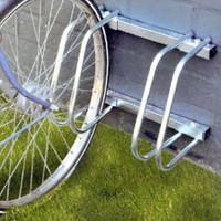 5-er VELOSTÄNDER Fahrradständer für Boden- & Wandmontage