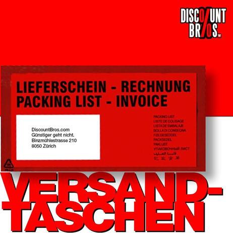 250 Stk. docuFIX® Rechnung – Lieferscheintaschen DOKUMENTENTASCHEN C5/6 Fenster links