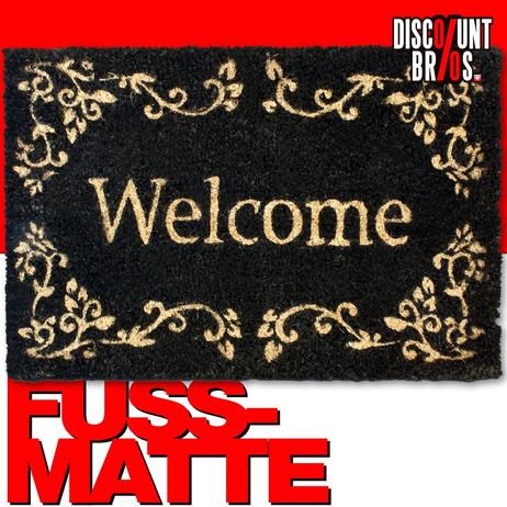 FUSSMATTE Kokos Türvorleger WELCOME – Bild 1