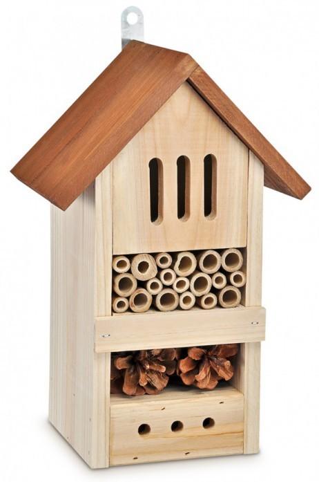Insektenhotel BIENENHOTEL Tannenholz 19×13×29cm