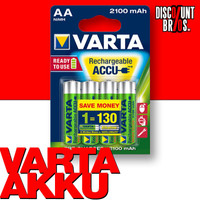 VARTA 56706 Ready2use NiMH AKKU 2100 mAh AA Mignon HR6 4er Pack 001