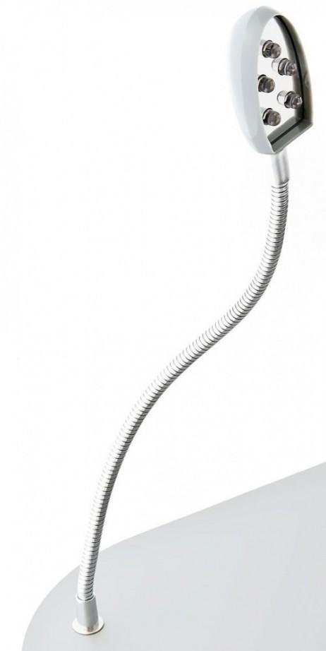 Knietisch LAPTOPTISCH mit LED Licht und Getränkehalter Grau – Bild 8