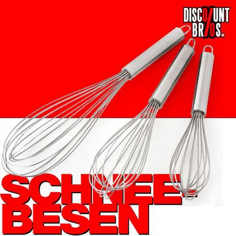 Schneebesen SCHWINGBESEN Edelstahl 3-Set – Bild 1