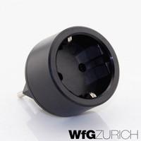 10 Stk. Reiseadapter Übergangs-Stecker SCHUKO (Typ F CEE 7) > Schweiz / CH (T12)