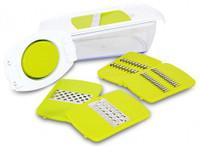 Enrico Küchenreibe und Hobel mit Behälter 5in1-Set