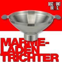 Einmachtrichter TRICHTER Edelstahl Marmeladentrichter