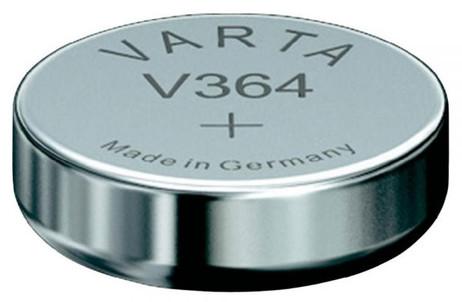 VARTA V364 Silberoxid Uhrenbatterie Miniblister – Bild 2