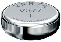 VARTA V377 Silberoxid Knopfzelle Uhrenbatterie Miniblister