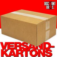 25 Stk. VERSANDKARTONS Kartonschachteln Faltkartons 60×30×15cm 001