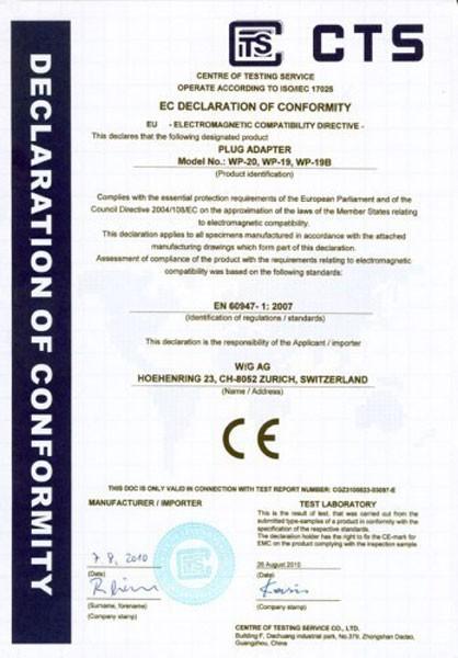 200 × Permanent Fix-Adapter Stecker SCHUKO (Typ F CEE 7) zu Schweiz (T12) 3-polig teilisoliert – Bild 9