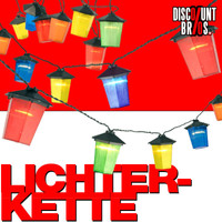 LED Party LICHTERKETTE mit 20 Laternen 001