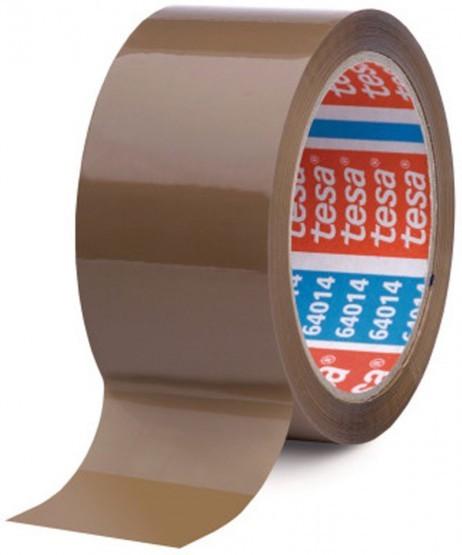 6 Stk. Packband KLEBEBAND für Kartonschachteln etc. tesapack® 64014 PP 66m 50mm braun