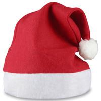 10 Stück Weihnachtsmütze SAMICHLAUSMÜTZE Weihnachtskostüm Party-Set