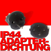 140 Stk. IP44 Dichtungsscheiben für Aussenanwendung der Fix-Adapter