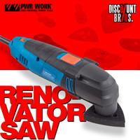 PWR Work™ RENOVATOR SAW™ Multifunktionswerkzeug mit Heimwerker Zubehör Set 37-tlg. 001