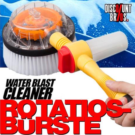 WATER BLAST CLEANER Wasserstrahl-Reiniger ROTATIOS-BÜRSTE für Wasserschlauch