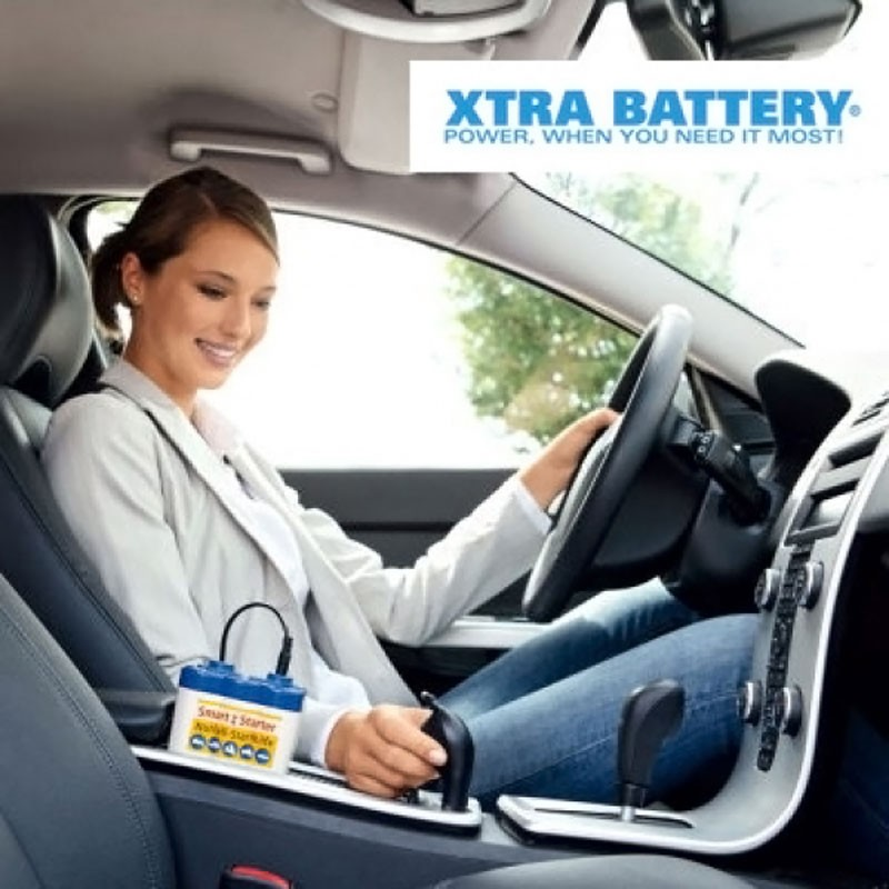 Batterie-Booster XTRA BATTERY® Auto-Starthilfe