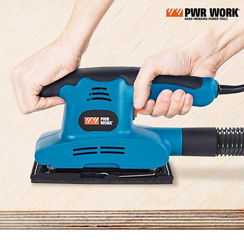 PWR Work™ Elektrische Schleifmaschine Vibrationsschleifer 150W 10000 U/min