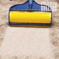 STICKY CLEAN ROLLERS abschwaschbare Fusselrollen - Grosses SET 3-tlg.
