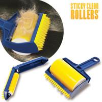 STICKY CLEAN ROLLERS abschwaschbare Fusselrollen - SET 2-tlg.