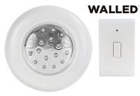 WalLED LED LAMPE batteriebetriebenes Licht mit Fernbedienung