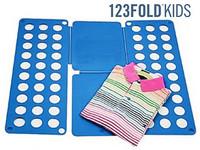 123Fold FALTBRETT Wäschefalthilfe für Kinderkleidung
