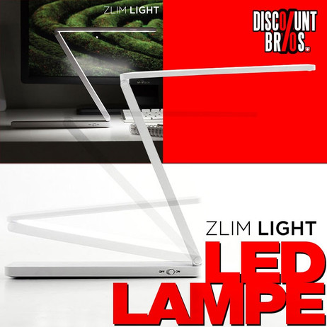 ZLIM LIGHT klappbare Mini-LED-Lampe mit USB – Bild 1