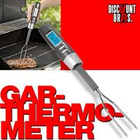 Digitales THERMOMETER Fleischgabel mit Lebensmittel- Grill- Fleisch- Bratenthermometer 001