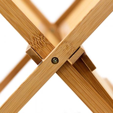 GESCHIRR-ABTROPFGITTER Abtropfgestell aus Bambus 47cm – Bild 6