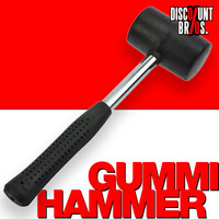GUMMI HAMMER 30cm