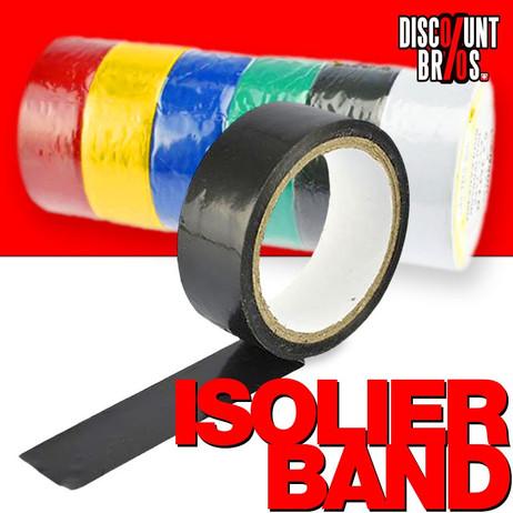 ISOLIERBAND PVC 18mm×3m 8er-Set – Bild 1