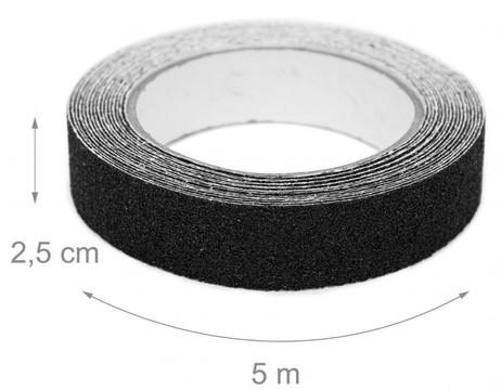 GRIP TAPE Selbstklebendes Anti-Rutsch-Klebeband 25mm × 5m – Bild 6