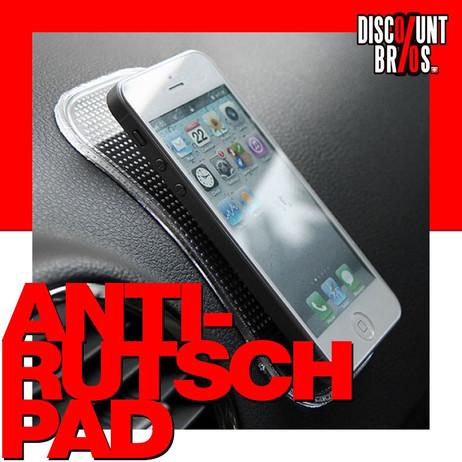 AUTO-HALTER Unterlage ANTI-RUTSCH PAD für Smartphone Handy etc. SCHWARZ – Bild 1